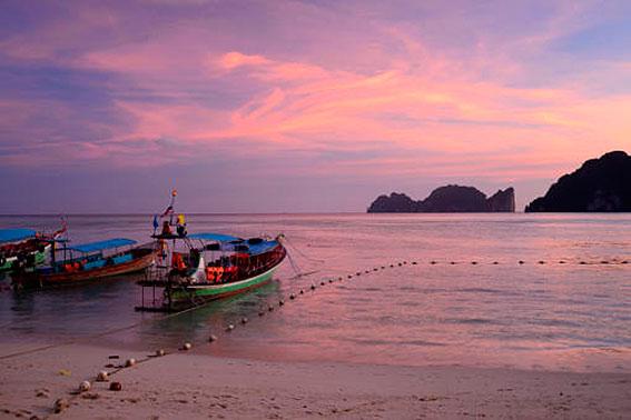 Plaże Sairee na Koh Tao.