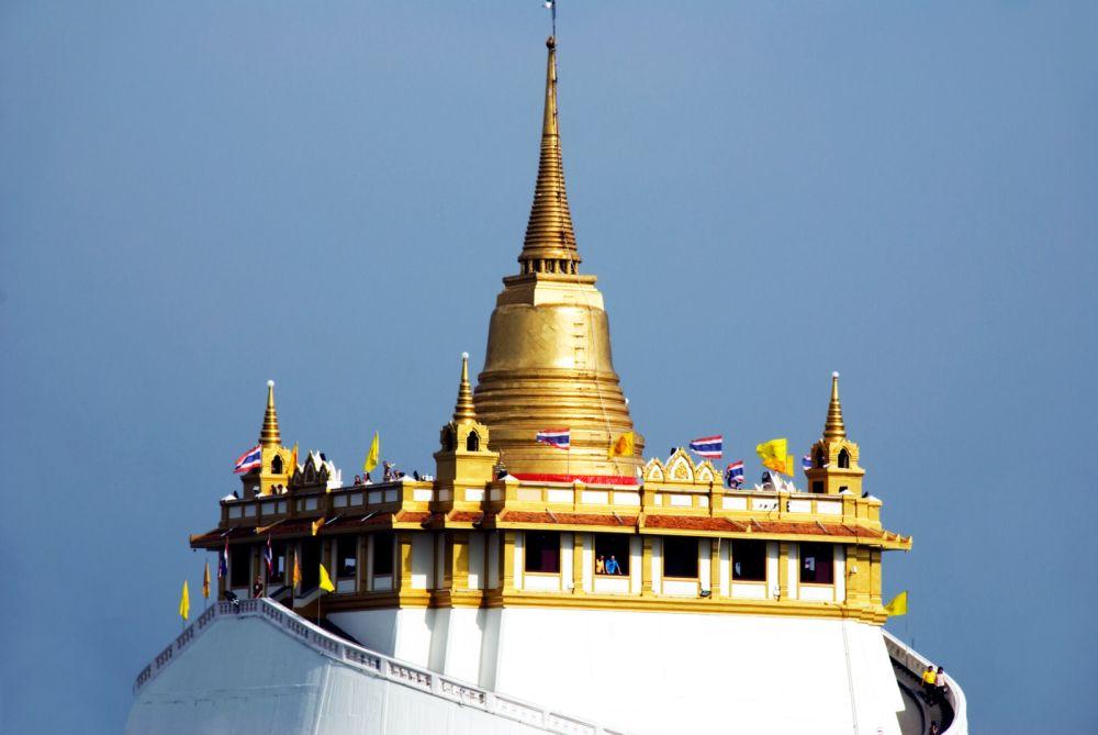 Złota Góra, Wat Saket w Bangkoku